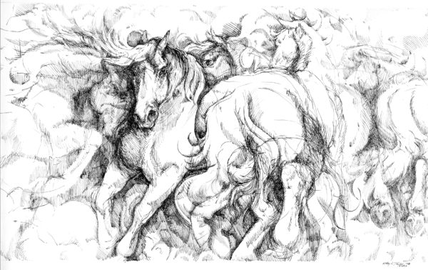ktdukeartist-horses-ink-power