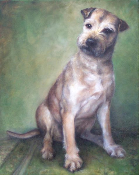 ktdukeartist-dog portrait-oil- summer