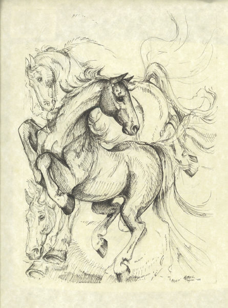 ktdukeartist-horses-ink-playful