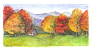 ktdukeartist-landscape-watercolor-fall farm